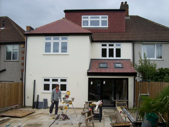 Gallery Extensions 100 2327 Rear 2 Storey Extension